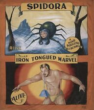 Vintage Freak Show Spidora and The Iron Tongued Marvel Poster A3/A2 Print