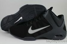 NIKE AIR VISI PRO IV 4 NBK BLACK/GRAY NUBUCK HI HIGH BASKETBALL US MENS SIZES