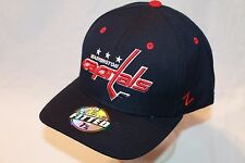 """Washington Capitals Hat Cap """"The Shootout Fitted Cap"""" By Zephyr NHL Hats"""