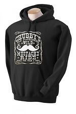 CHUBBY'S OLD FASHIONED WILD MUSTACHE RIDE BAR COLLEGE PARTY Sweatshirt/HOODIE