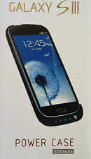 Samsung galaxy S3 battery case external backup power bank rechargeable