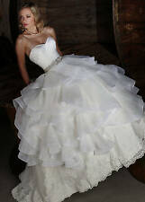 Sweetheart Wedding Dress White/Ivory Bridal Gowns Size 4/6/8/10/12/14/16/18