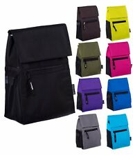 Mato & Hash Insulated School/Work Lunch Tote Cooler Bag w/ Strap and Name Tag
