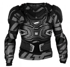 Leatt Adventure Body Protector Motor Bike Motocross Armour Black Sizes S - 2XL