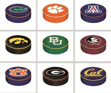 Choose Your NCAA A-J Team Heavy Duty Vinyl Bar Stool Seat Cover by HBS Covers