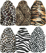 Faux Fur Animal Print Velboa Hot Water Bottle Cover Various Designs