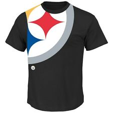 Pittsburgh Steelers  Blind Pass T-Shirt - Black