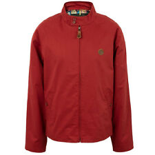 Pretty Green Harrington Jacket Burgundy S - XXL Coat Liam Gallagher Biker
