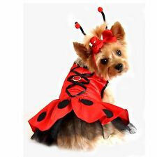 Ladybug Fairy Dog Halloween Costume/Parade/Leash included!/XS/S/M/L/Adorable!