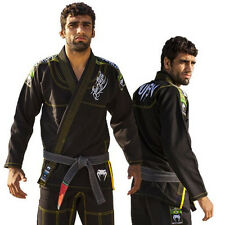 New BJJ GI Competitor Single Weave - Black
