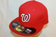Washington Nationals Authentic Collection On-Field New Era 59FIFTY Game Cap