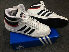 brand new e38e9 bd870 Adidas Originals Top Ten High Weiß Navy Rot Sneaker Mid 30 Jahre  Sonderausgabe