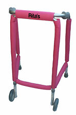 Walking zimmer frame protection pads