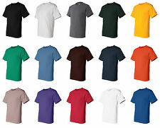 CHAMPION MEN'S NEW SHORT SLEEVE 100% COTTON TAGLESS T-SHIRT S-2XL 3XL T525