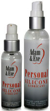 Adam & Eve Silicone Based Personal Sex Lubricant Lube - All Sizes