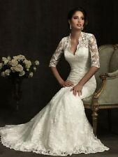 2014 New white/ivory wedding dress Mermaid Wedding Lace Fashion  Bridal Gowns