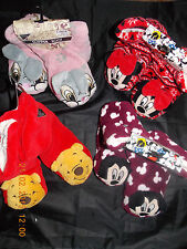 DISNEY Ladies Womens Girls SLIPPERS BOOTS FLEECE SOCKS  Primark UK 3-8 BNWT