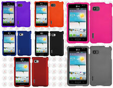 T-Mobile LG Optimus F3 MS659 Rubberized HARD Protector Case Phone Cover