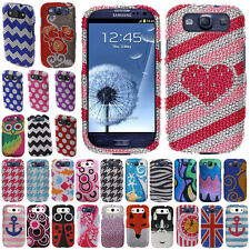 Bling Crystal Cover Case For Samsung Galaxy S 3 i9300 T999