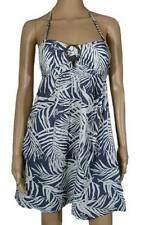 ROXY New Ladies Womens Halter Dress Blue Sizes 8 10