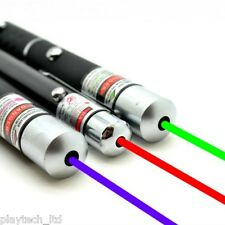 Laser Beam Pointer Pen Lazer PURPLE GREEN RED Presentation Pens Cat Light Toy