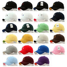 (UK) men women golf exercise tennis outdoor polo baseball cap hats - 23 colours