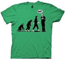 Big Bang Theory Evolution of Sheldon Cooper Adult Men's Tshirt S,M,L,XL,2XL