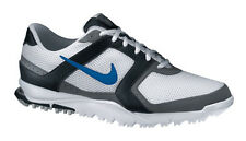 Nike Air Range WP Golf Shoes White/Blue Spark-Black
