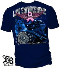 Law Enforcement Police Fight For A Cure Support Breast Cancer Awareness!