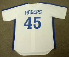 STEVE ROGERS Montreal Expos 1981 Majestic Cooperstown Home Baseball Jersey