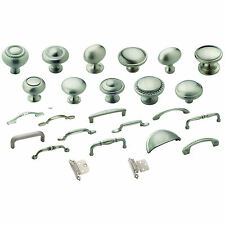 Cabinet Hardware Satin Nickel Knobs Pulls & Hinges