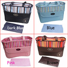 New Baby Diaper Bag Nappy Tote Messenger Changing Bag 08225