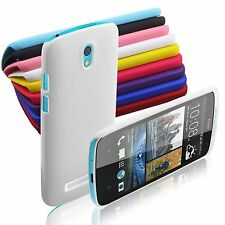 Multi-colored Hard Plastic Snap-on Back Cover Case Skin Shell for HTC Desire 500