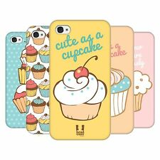 HEAD CASE DESIGNS CUPCAKES PROTECTIVE HARD BACK CASE COVER FOR APPLE iPHONE 4 4S