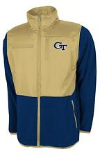 Georgia Tech Yellowjackets NCAA 2013 Poly Dobby Full Zip Polar Fleece Jacket