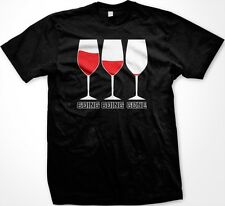 Going Going Gone -Wine Glasses Winery Alcohol Funny Sayings Men's T-shirt