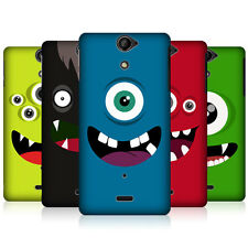 HEAD CASE DESIGNS JOLLY MONSTERS SNAP-ON BACK CASE COVER FOR SONY XPERIA V LT25i