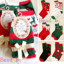 1 Pair Christmas Women Warm Soft Winter Autumn Home Cozy Socks Festival Gift