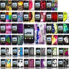 For LG 840g Rubberized Hard Design Phone Case Cover