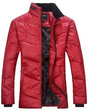 Winter wadded jacket Men's Thicker Down jacket Casual Stand-up collar Coat Slim