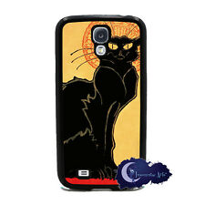 Tournee du Chat Noir -Black Cat Art - Case for Samsung Galaxy S4 SIV Phone Cover
