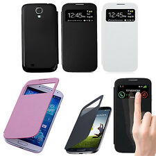 New Slim View Flip Smart Case Battery Cover Skin For Samsung Galaxy S4 SIV i9500
