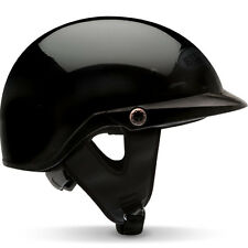 Bell Factory Pit Boss Gloss Black 1/2 Motorcycle Helmet