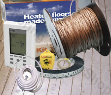 Radiant Floor Heating Cable / Spool 240 Volt  MADE in the USA Complete KIT