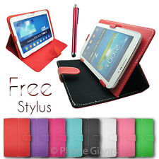 """NEW STYLISH LUXURY NEW 7"""" INCH PU LEATHER TABLET POUCH CASE COVER PC EPAD"""
