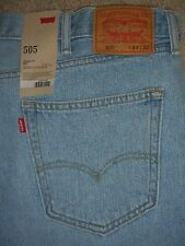 LEVIS 505 Straight Fit Mens Jean Size 44 33 32 New $58