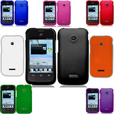 For Huawei Prism II U8686 Rubberized HARD Protector Case Snap on Phone Cover
