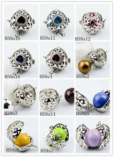 Silver Chime Sounds Harmony Ball Heart love Pendant Bola Angel Caller Baby