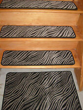 14=Step 9''x 30'' +1Landing 30'' x 30'' Tufted carpet Wool Woven Stair Treads