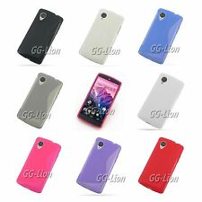 For LG Google Nexus 5,D820/D821 Gel TPU Case Skin Cover + Screen Protector